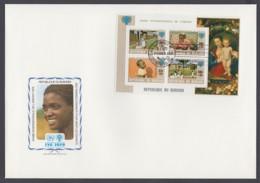 IYC FDC 1979 / Burundi - MiNr. Block 109 A / International Year Of The Child - Vereine & Verbände