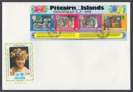 IYC FDC 1979 / Pitcairn Islands - MiNr. Block 5 / International Year Of The Child - Vereine & Verbände