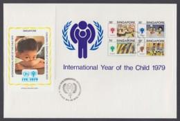 IYC FDC 1979 / Singapore - MiNr. Block 11 / International Year Of The Child - Vereine & Verbände