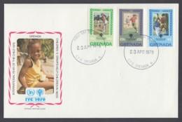 IYC FDC 1979 / Grenada - MiNr. 963-965 / International Year Of The Child - Vereine & Verbände