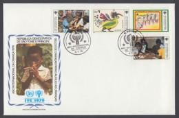 IYC FDC 1979 / São Tomé And Príncipe - MiNr. 579-582 / International Year Of The Child - Vereine & Verbände