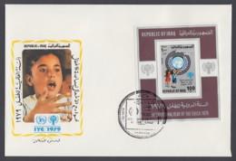 IYC FDC 1979 / Iraq - MiNr. Block 31 / International Year Of The Child - Vereine & Verbände