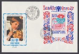 IYC FDC 1979 / Hungary - MiNr. Block 141 A / International Year Of The Child - Vereine & Verbände