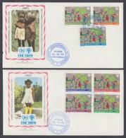 IYC FDC 1979 / Haiti - MiNr. 1345-1354 / International Year Of The Child - Vereine & Verbände