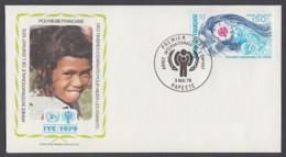 IYC FDC 1979 / French Polynesia - MiNr. 284 / International Year Of The Child - Vereine & Verbände