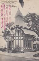 Exposition 1910 Pavillon De La Ste Anonyme D Eternit Haren A Obtenu Le Grand Prix - Expositions Universelles