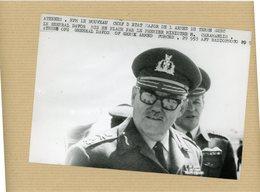 Photo Originale , Le Général  DAVOS  Chef D'état Major De L'armée De Terre GREC - Guerre, Militaire