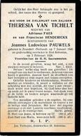Zundert, Zeundert, , Sint-Antonius-Brecht, 1928, Theresia Tichelt, Faes, Henderickx, Pauwels - Images Religieuses