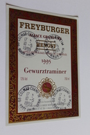 Etiquette De Vin Neuve Jamais Servie GEWURZTRAMINER   1995 FREYBURGER HENGST APPELLATION ALSACE GRAND CRU - Gewurztraminer