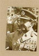 Photo Originale  Le Général  ASFA WOSSEN  Sur Le Trône De L'ETHIOPIE  En 1974 - Guerre, Militaire
