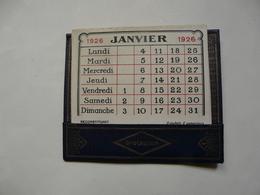 VIEUX PAPIERS - CALENDRIER PETIT FORMAT 1926 - OPOCALCIUM - A. RANSON Docteur En Pharmacie - Paris XXéme - Klein Formaat: 1921-40
