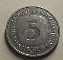 1978 - Allemagne - Germany - RFA - 5 MARK (F), KM 140.1 - [ 7] 1949-… : RFD - Rep. Fed. Duitsland