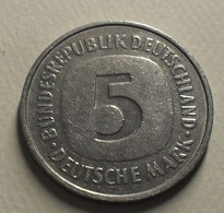 1978 - Allemagne - Germany - RFA - 5 MARK (F), KM 140.1 - 5 Mark