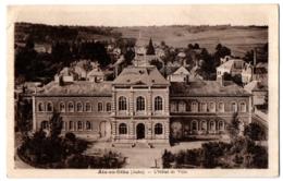 CPA 10 - AIX EN OTHE (Aube) - L'Hôtel De Ville - Ed. Robert - France