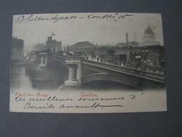 London Bridge 1902 - River Thames