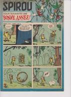 Spirou  N°977 - 3 Janvier 1957 - Spirou Magazine