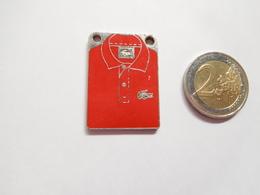 Plaque ( No Pin's ) Marque Polo Lacoste - Marcas Registradas