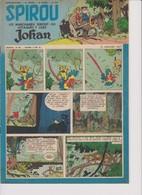 Spirou  N°978 - 10 Janvier 1957 - Spirou Magazine