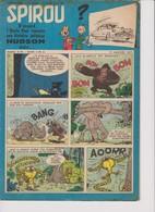 Spirou  N°979 - 17 Janvier 1957 - Spirou Magazine