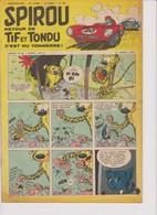 Spirou  N°988 - 21 Mars 1957 - Spirou Magazine
