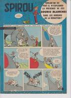 Spirou  N°1003 - 4 Juillet 1957 - Spirou Magazine