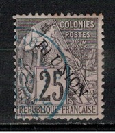 REUNION         N° YVERT  :    24          OBLITERE     ( OB   03/61  ) - Réunion (1852-1975)