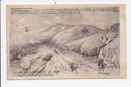 CPA ILLUSTRATEUR MILITARIA Guerre Russo Japonnaise Vallée De L'ombre De La Mort Guepier D'obus Devant Port Arthur - Illustrateurs & Photographes