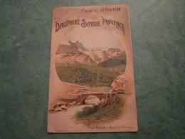 CHEMINS DE FER P.L.M. - Dauphiné-Savoie-Provence (12 Pages) - Railway