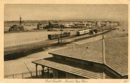 EGYPT -  Port Teflik - Birds Eye View Including The Railway Station Etc - Egypt