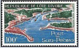 """Cote Ivoire Aerien YT 49 (PA) """" Port San Pedro """" 1971 Neuf** - Côte D'Ivoire (1960-...)"""