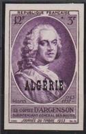 ALGERIE NON DENTELE   N° 303  JORNEE  DU TIMBRE  1953 - Algérie (1924-1962)