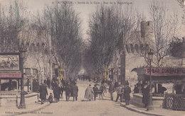 Sortie De La Gare. Dos Adresse. TBE Non écrite - Avignon