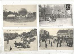 Reproductions De Cp , 75 PARIS , 2 Scans ,  LOT DE 8 CARTES POSTALES - Cartes Postales