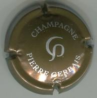 CAPSULE-CHAMPAGNE GERBAIS Pierre N°14 Marron & Argent - Other