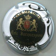 CAPSULE-CHAMPAGNE JACQUESSON Eric N°01 Noir Contour Blanc - Champagne
