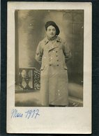 Carte Photo - Militaire, Mars 1917 - Guerre 1914-18