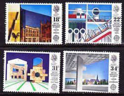 G.B. 1987 Europe / CEPT Modern Architecture MNH Set Mi. 1105 / 1108 - 1952-.... (Elizabeth II)