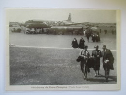 (1962) Aeroporto ROMA CIAMPINO - PAN AMERICAN AIRWAYS - Coupure De Presse Originale (encart Photo) - Documenti Storici