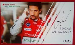 Audi Sports Lucas Di Grassi - Handtekening