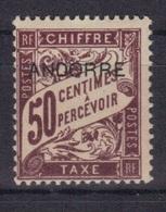Andorre Fr. 1931/32 Yvert Taxe 4 Neuf** MNH (194) - Timbres-taxe