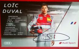 Audi Sports  Loic Duvall - Authographs