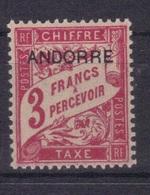Andorre Fr. 1931/32 Yvert Taxe 8 Neuf** MNH (194) - Timbres-taxe