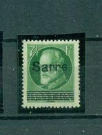 Saargebiet, Sarre Auf Bayern, Nr. C 31 Falz *, Altsignatur - Ungebraucht
