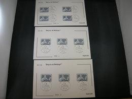 """BELG.1985 2169 FDC Filami Cards : """" Journée Du Timbre , Jean De Bast Graveur , Dag Van De Postzegel """" - FDC"""