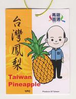 Fruit Label Pineapple Taiwan - Fruit En Groenten
