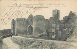 CPA 24 Dordogne Environs De Sarlat Domme Porte Des Tours - Autres Communes