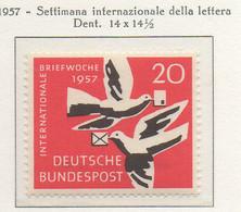 PIA - GERMANIA - 1957  : Settimana Internazionale Della Lettera  -   (Yv 148) - Nuovi