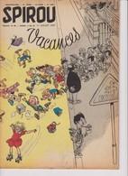 Spirou  N°1004 - 11 Juillet 1957 - Spirou Magazine