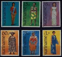 Suriname Surinam 1977 - Trachten  Folf Costume - Frauentrachten - MiNr 753-758 - Kostüme
