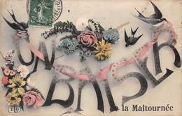 93.n°59541.la Maltournée.un Baiser De ...fleurs.hirondelle - Autres Communes